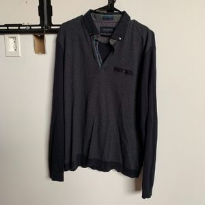 Ted Baker Men's Collared Sweater